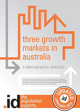 3 growth markets in Australia