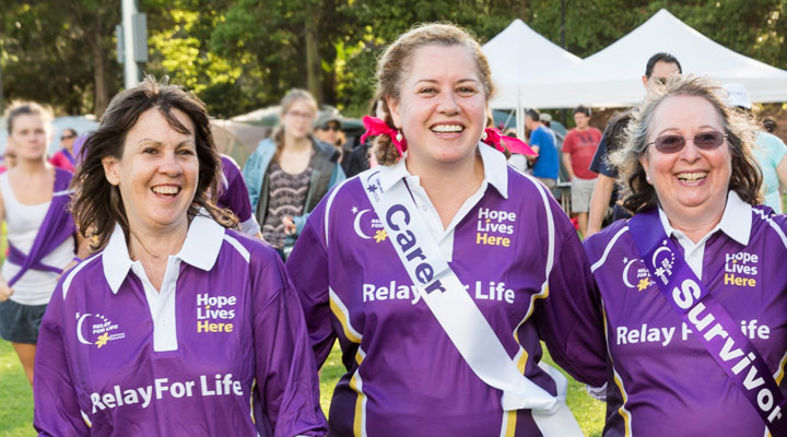 Supporting the Cancer Council's Relay for Life