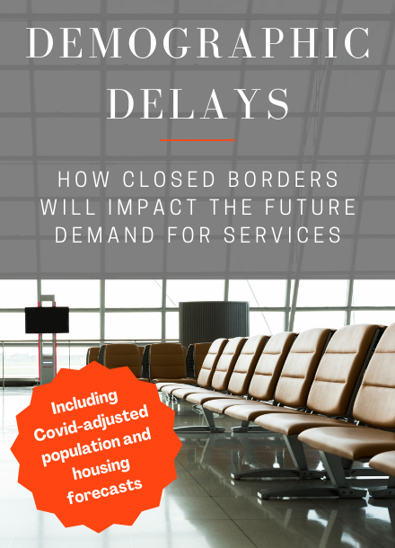 Demographic delays: how closed borders will impact the future demand for services